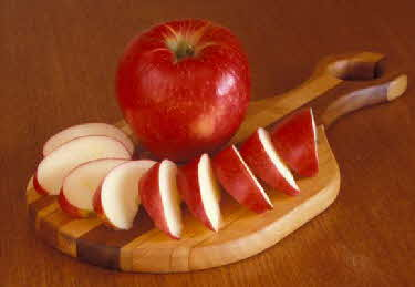 honeycrisp sliced